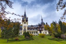 Free Peles Castle Royalty Free Stock Photography - 27510417