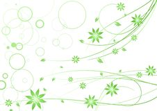 Free Abstract Floral Background Stock Photography - 27511662