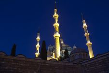 Selimiye Mosque Stock Photography