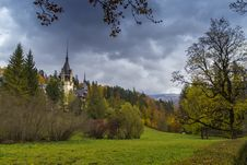 Free Peles Castle In Transylvania Royalty Free Stock Images - 27512429
