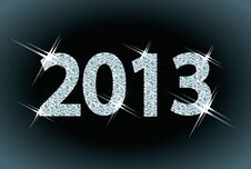 Free New Diamond 2013 Year Stock Images - 27512824