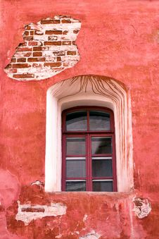 Free Window Of Old 19th Century Building Royalty Free Stock Photo - 27514375