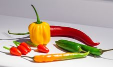 Free Chillies Royalty Free Stock Photo - 27517145