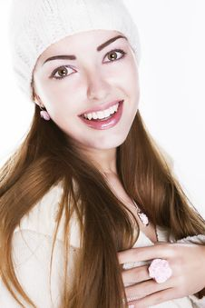 Free Delighted Happy Woman Face - Beauty Toothy Smile Stock Images - 27517194