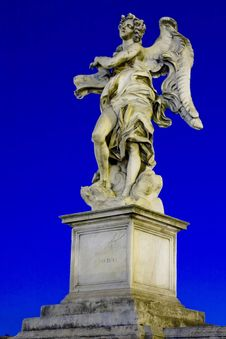 Free Bernini`s Statue Of Angels Stock Photo - 27517330