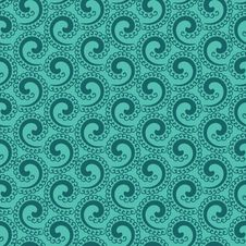 Free Abstract Green Curl Background Royalty Free Stock Image - 27519246