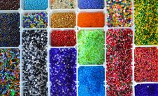 Free Beads Collection Stock Photography - 27519792