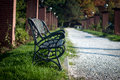 Free Park Bench Royalty Free Stock Photography - 27526797