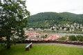 Free Heidelberg Historic Center View Stock Photos - 27526823