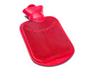 Free A Red Hot Water Bottle On White Background Royalty Free Stock Images - 27529819