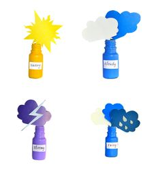 Free Weather Icons Royalty Free Stock Photos - 27520138
