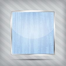 Free Scratched Blue Icon Royalty Free Stock Photo - 27524055