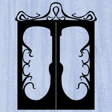 Free Silhouette Of Door Royalty Free Stock Images - 27524139