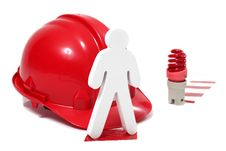 Free Safety In A Hazardous Workplace Royalty Free Stock Photography - 27524787
