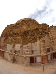 Free Masada And Dead Sea Stock Photo - 27525740