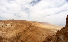 Free Masada And Dead Sea Stock Photography - 27525762
