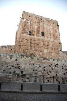 Free Tower Of David In Jerusalem Stock Images - 27526584