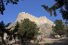 Free Acropolis Of Lindos Stock Images - 27529044