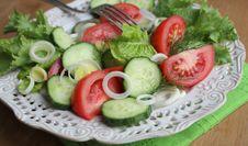 Free Fresh Salad Royalty Free Stock Photography - 27534047