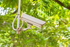 Free Security Surveillance Camera Stock Photography - 27536202
