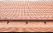 Free The Roof Is Covered With Tiles Stock Photos - 27537253