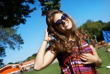 Free Attractive Girl In Sunglasses Stock Photography - 27538602