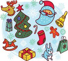 Free Christmas Symbols Stock Images - 27539704