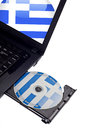 Free Welcome To Greece CD Stock Image - 27548041