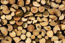 Free Woodpile Royalty Free Stock Photo - 27540145