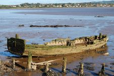 Free Beached Boat Royalty Free Stock Photos - 27540168