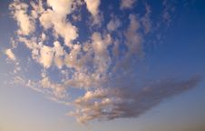 Free Evening Sky With Clouds Stock Photos - 27540883