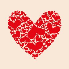 Free Hearts In Heart Royalty Free Stock Photos - 27540978