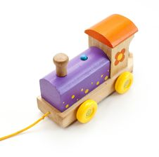 Free Wooden Train Stock Photography - 27541102