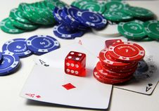Free Poker Royalty Free Stock Photography - 27541447