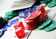 Free Poker Royalty Free Stock Image - 27541476
