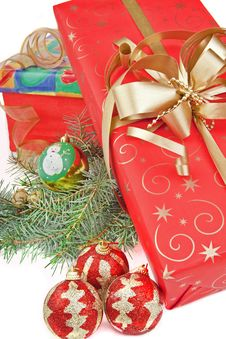 Free Christmas Presents Royalty Free Stock Photography - 27541607