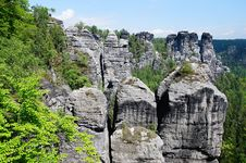 Free Elbe Sandstone Mountains Stock Images - 27541724
