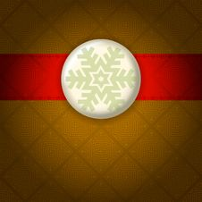 Classical Style Christmas Background. Stock Images