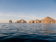 Free Rocks At Cabo San Lucas Stock Photo - 27545340