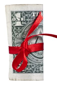 One Dollar Back Side Stock Images