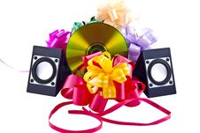 Free Musical Gift Royalty Free Stock Photos - 27547058