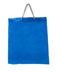 Free Blue Bag Royalty Free Stock Image - 27547416