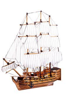 Free HMS Victory Royalty Free Stock Photo - 27547625