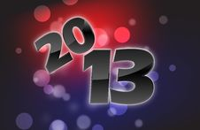 Free 2013 Card Royalty Free Stock Image - 27547896