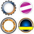 Free Circle Form Set Royalty Free Stock Image - 27556236