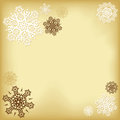 Free Background With Snowflakes Royalty Free Stock Images - 27559629