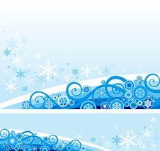 Free Snow Background Royalty Free Stock Photo - 27550285