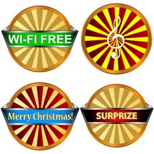 Free Web Icons Set Royalty Free Stock Photo - 27556245