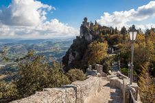 Free San Marino Castle Stock Photo - 27559600