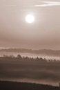 Free Foggy Sunrise Stock Photos - 27561213